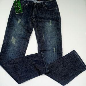 Sky Jeans Distressed Blue Jeans Size 9/10 Ladies